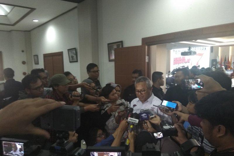 Hasil akhir Pilpres 2019: Jokowi 55,50 persen dan Prabowo 44,50 persen