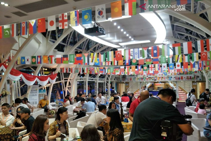 Festival kuliner Asia, suasana Indonesia hiasi ikon Kota Guangzhou