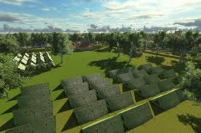 Desa Pampang bangun bumi perkemahan dengan dana desa