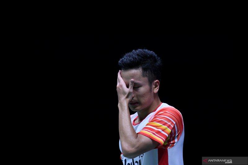China Open, Ginting kalah dari Momota akibat sering lakukan kesalahan sendiri