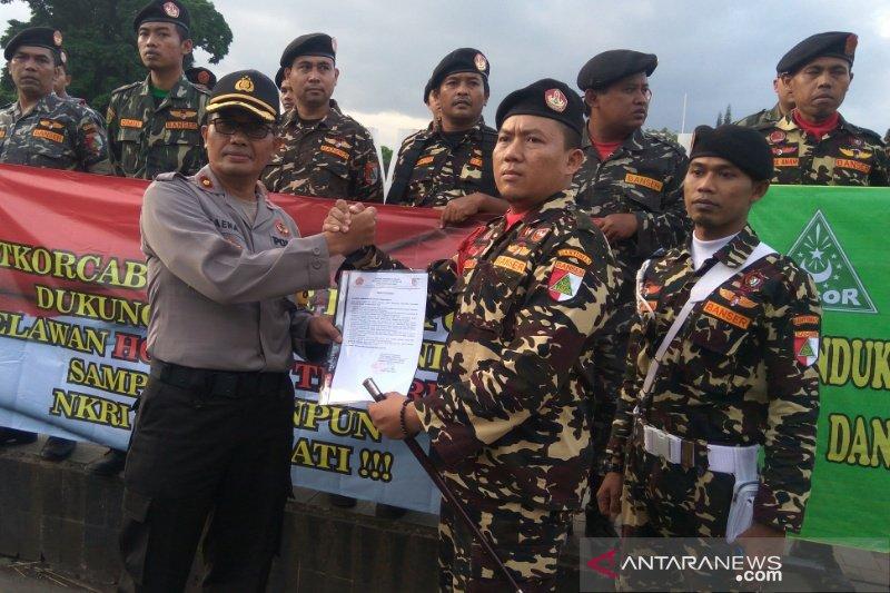 Ormas dukung Polri usut kasus penembakan Mako Brimob Purwokerto