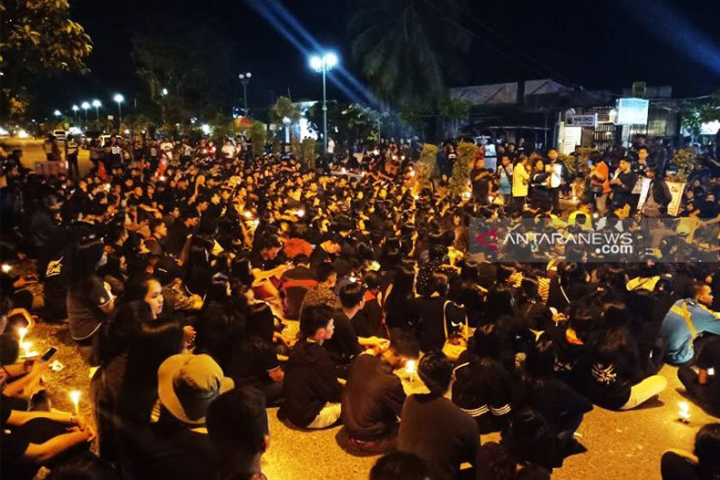 Perwira Polisi penabrak mahasiswa dicopot dari jabatan