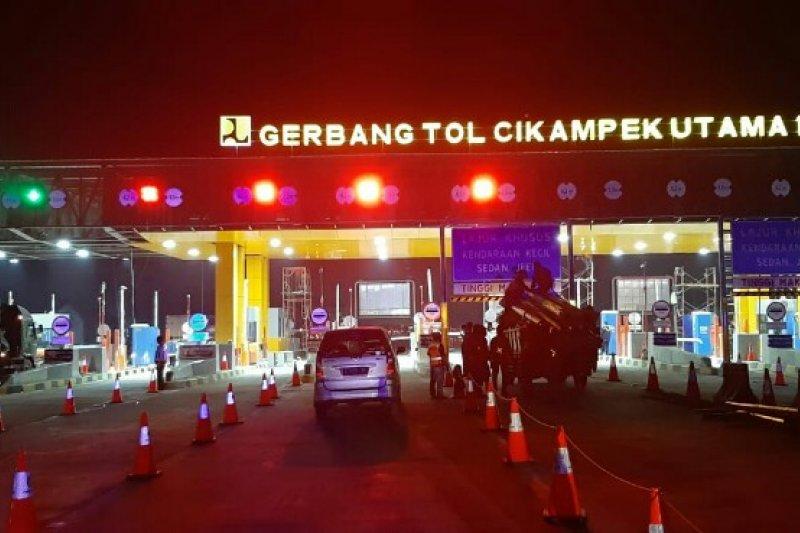 Hari pertama 71.955 kendaraan lewati GT Cikampek Utama dan Kalihurip Utama