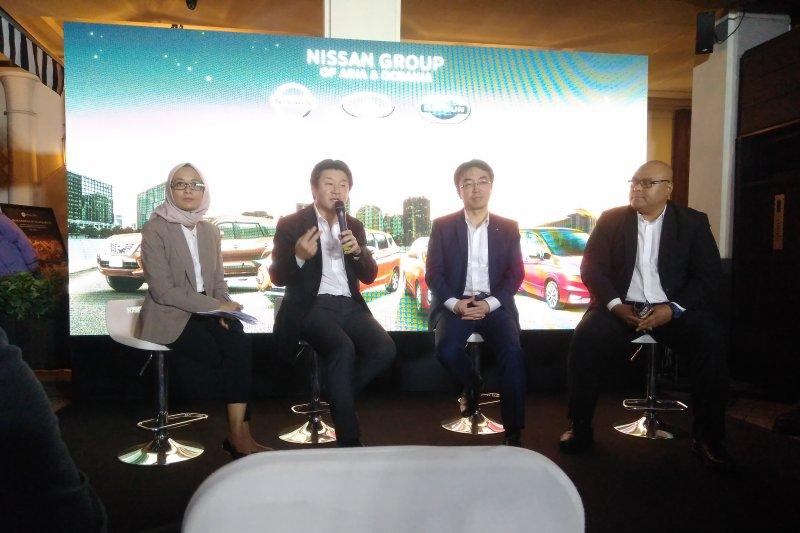 Nissan berikan bocoran strategi mobil listriknya di tahun 2020