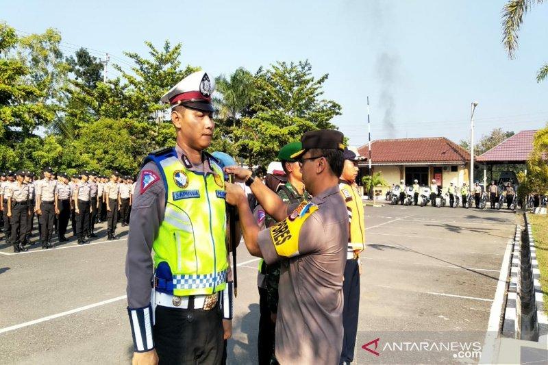 Polres Kulon Progo mendirikan dua pos pengamanan pada Lebaran 2019