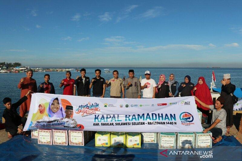 Kapal Ramadhan ACT  distribusikan bantuan kepada 300 kk
