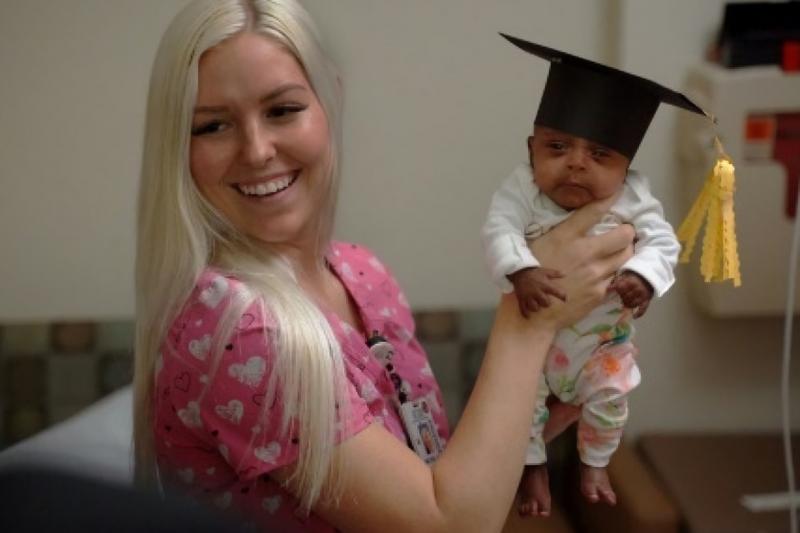 Bayi terkecil di dunia itu bernama Saybie