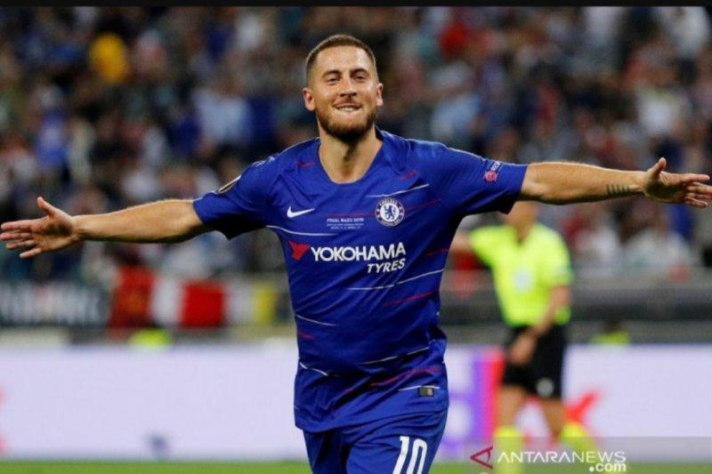 Hazard dikenalkan di Santiago Bernabeu pada 13 Juni