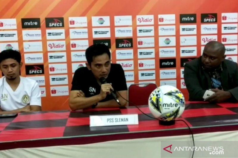 PSS Sleman boyong 16 pemain ke Jayapura