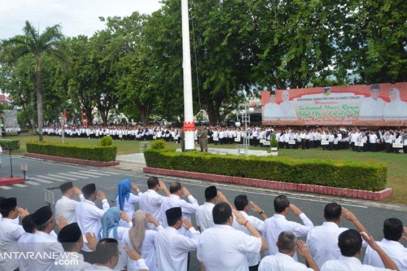 Gubernur apresiasi kehadiran ASN di upacara Harla Pancasila