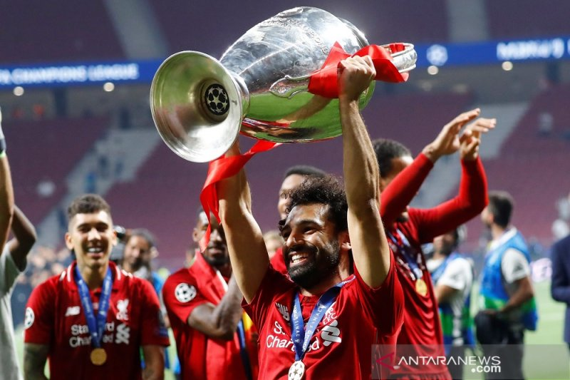 Salah gembira antar Liverpool juara