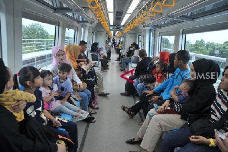 Mulai 7 Juni, LRT Sumsel tambah enam perjalanan