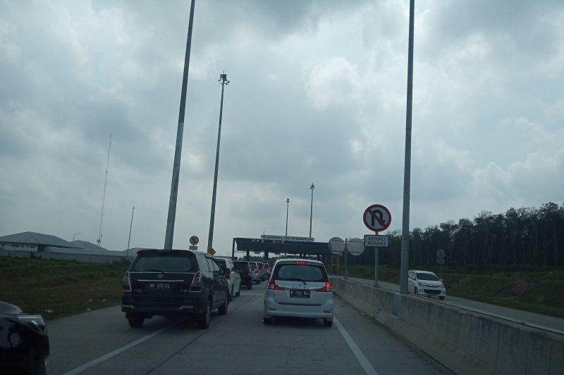 Pintu Tol Natar Lampung sepi pemudik