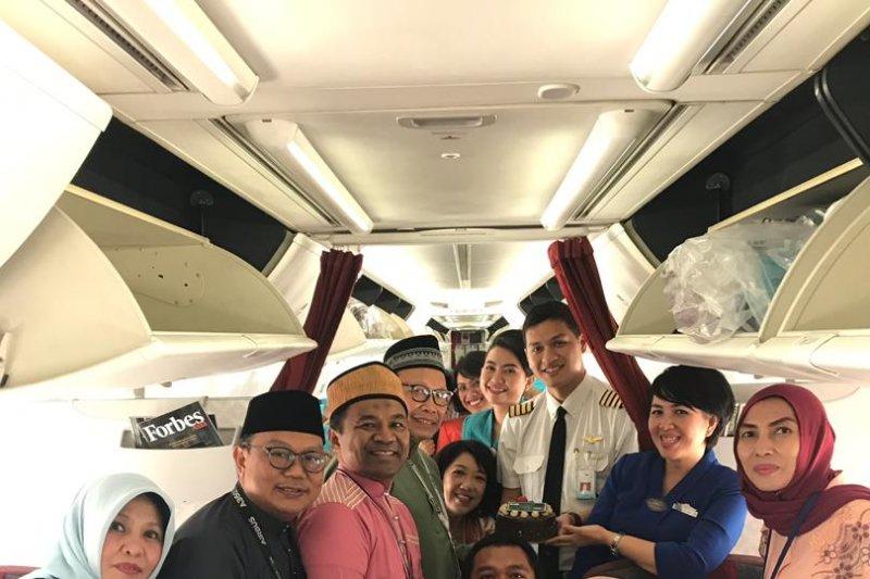 GM Garuda Malaysia lepas penerbangan Idul Fitri 1440 H