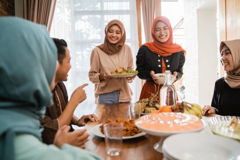 Tips aman makan gulai hingga rendang Lebaran