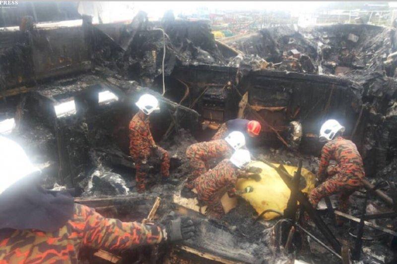 Kapal terbakar satu WNI meninggal di Langkawi