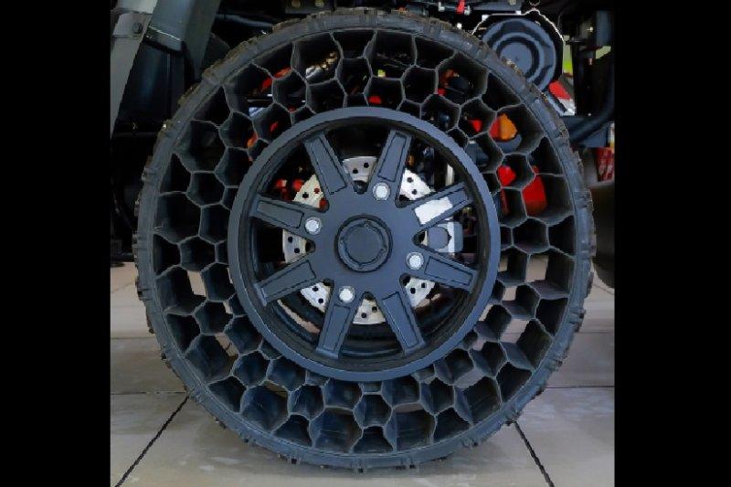 Michelin kembangkan ban tanpa udara