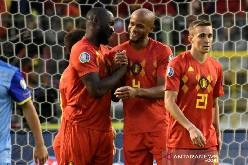 Skotlandia dan Belgia petik kemenangan di Grup I Euro 2020