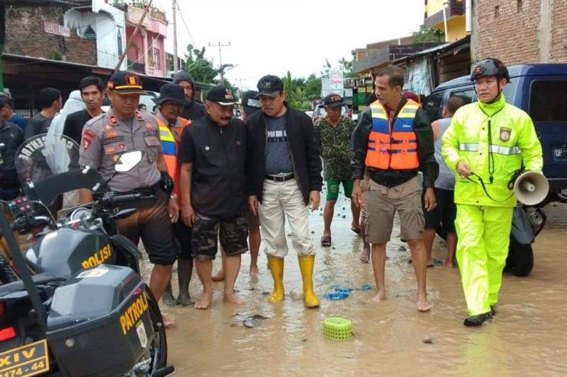 Tiga kecamatan  di Sidrap Sulsel terendam banjir