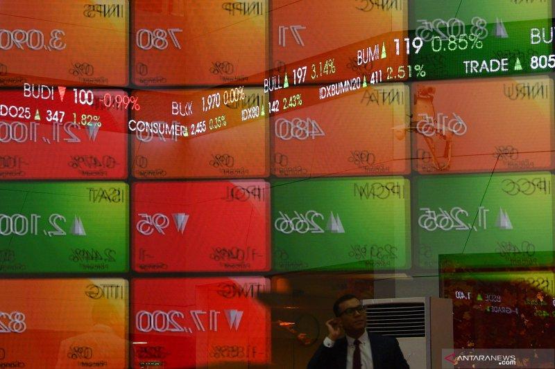 IHSG akhir pekan menguat 5,92 poin ditengah koreksi bursa Asia