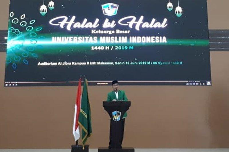 Civitas akademika UMI Makassar gelar halal bihalal