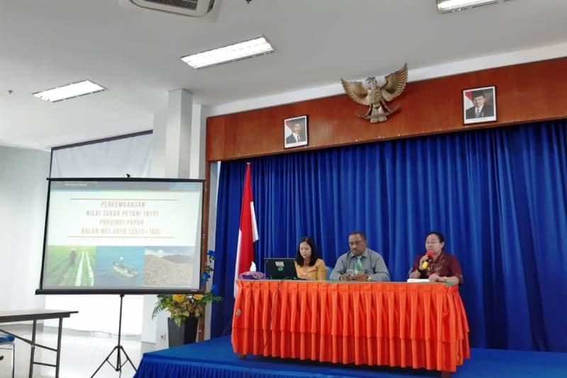Nilai tukar petani di Papua naik 0,11 persen