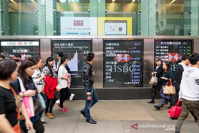 Bursa saham Hong Kong ditutup menguat 0,50 persen