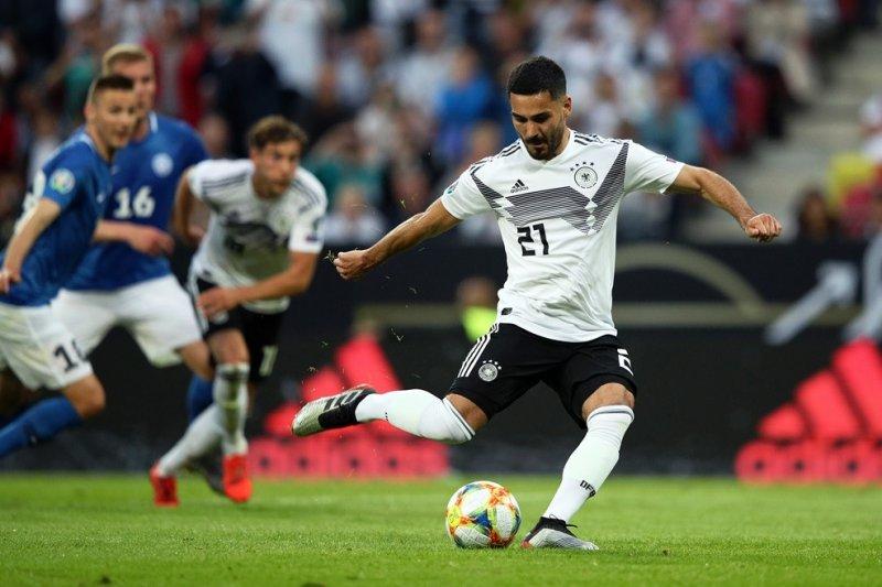 Ilkay Gundogan yakin Jerman pantas nikmati liburan usai pesta gol