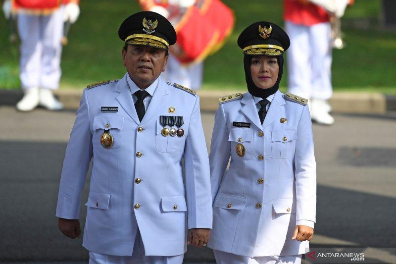 Bupati Waykanan sampaikan ucapan selamat atas pelantikan Gubernur dan Wagub Lampung