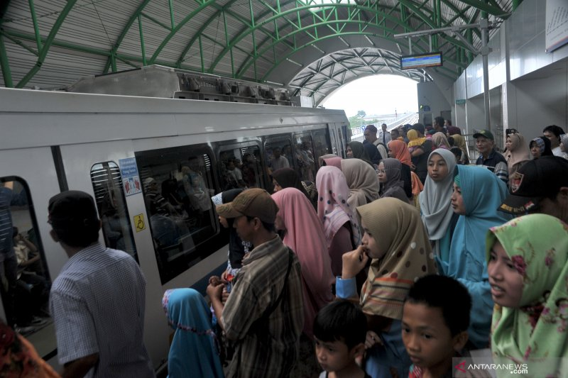 LRT Palembang Alternatif Liburan