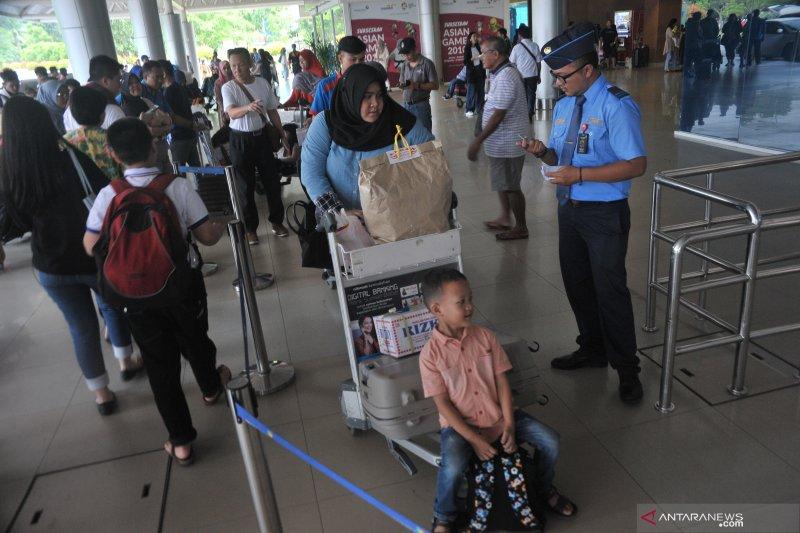 Puncak Arus Balik Bandara SMB II