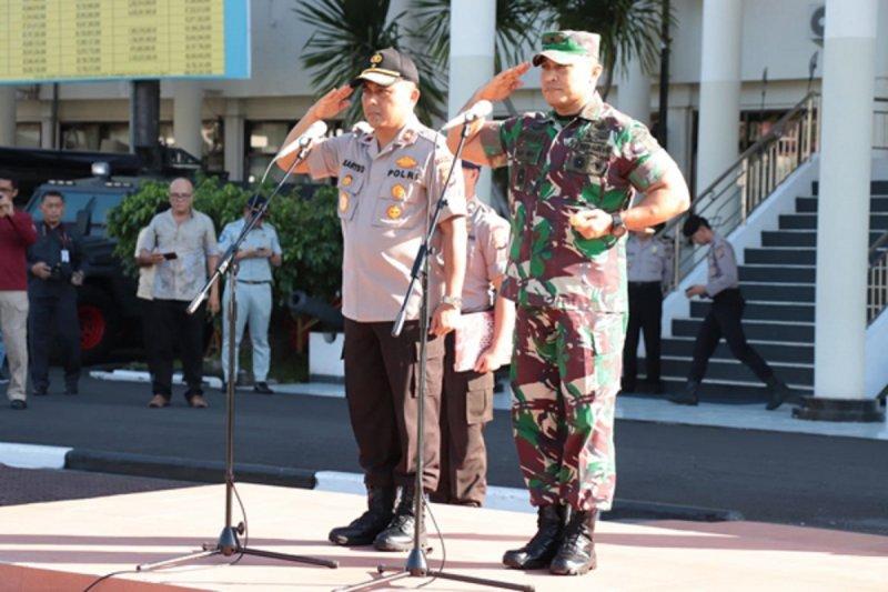 Wakapolda-Danrem pimpin apel berakhirnya Operasi Ketupat 2019