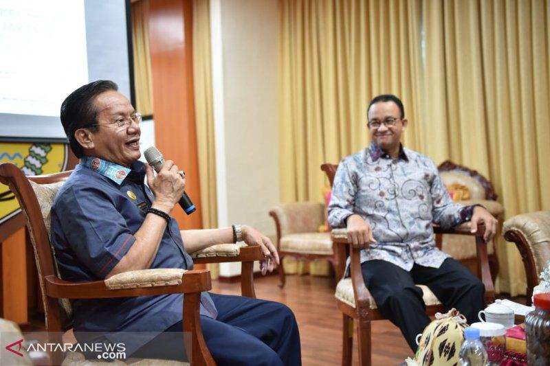 Gubernur DKI temui Gubernur Sulteng bahas pemulihan pasca-bencana