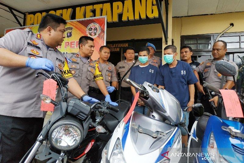 Komplotan pencuri motor lintas kabupaten ini ditangkap di Sampit