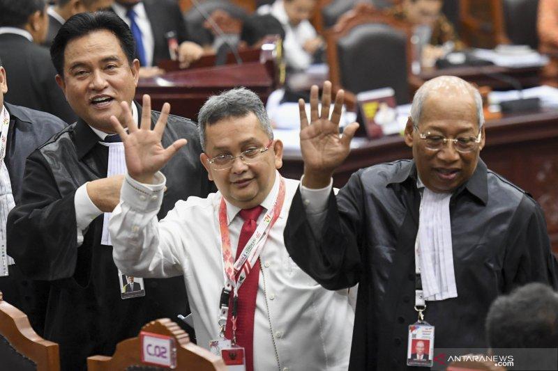 Kuasa Hukum Paslon 01: seluruh dalil Prabowo-Sandi hanya asumsi yang lemah