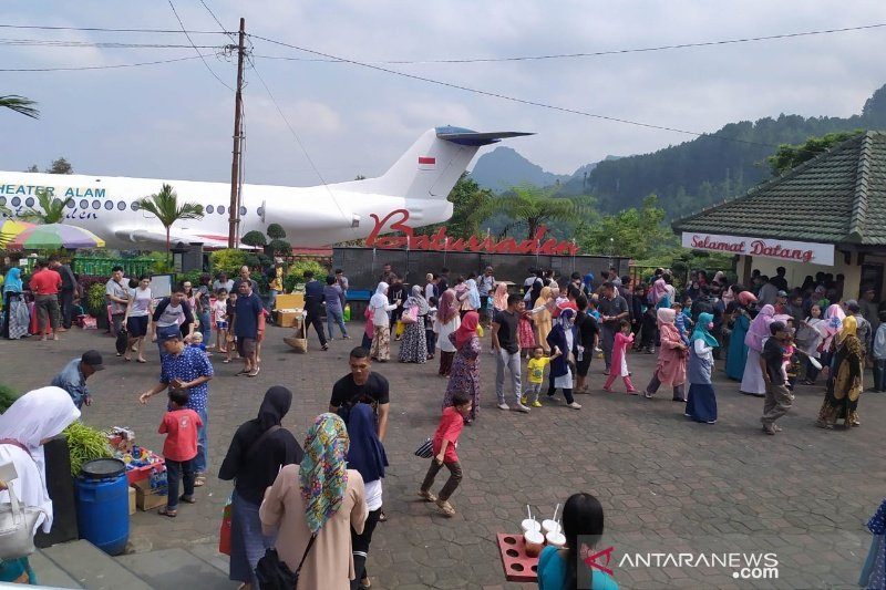 Lokawisata Baturraden tetap diminati wisatawan saat Lebaran