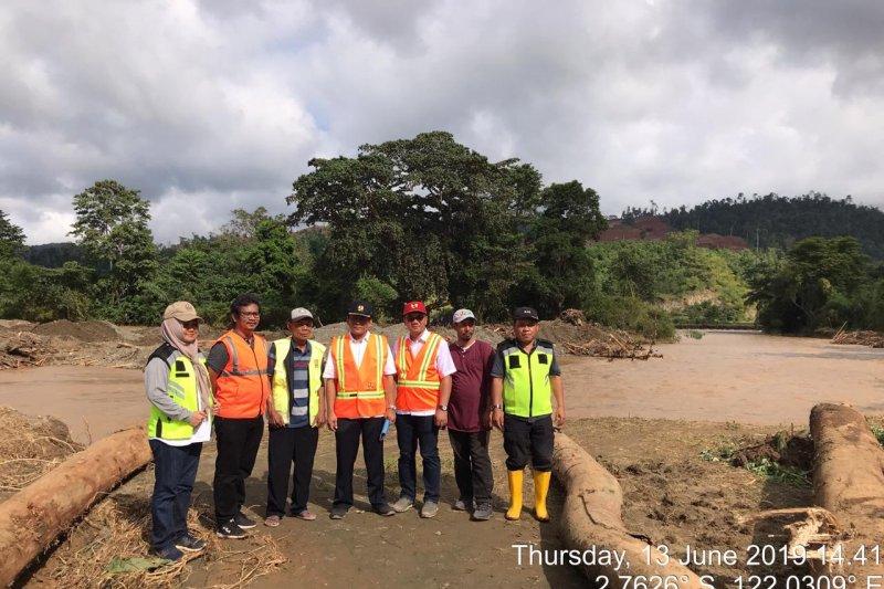 Kementerian PUPR upayakan Trans Sulawesi di Morowali segera terbuka kembali