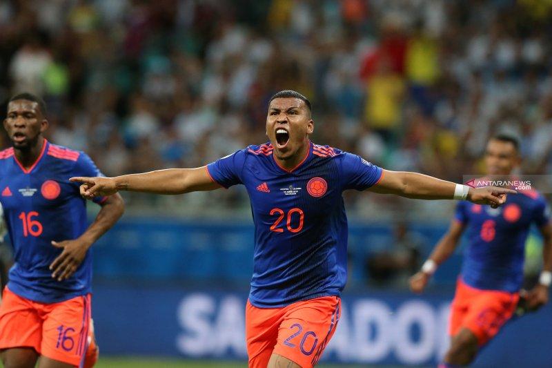 Kolombia permalukan Argentina dengan skor 2-0