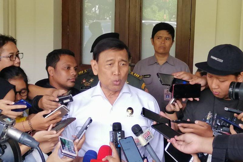 Wiranto pastikan aksi massa di MK bukan pendukung Prabowo