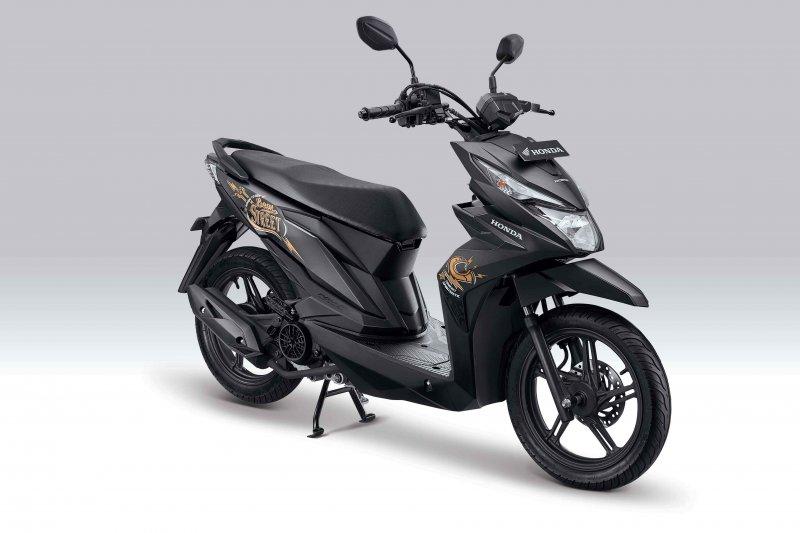 Tampilan Honda BeAT Street mendapat penyegaran dari AHM