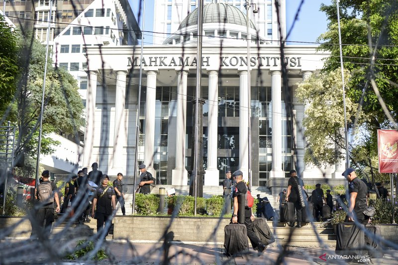 Sidang MK, KPU :  Ma'ruf tidak langgar ketentuan pemilu