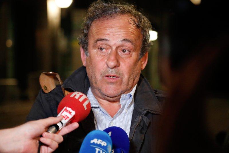 Michel Platini dibebaskan dari tahanan Prancis