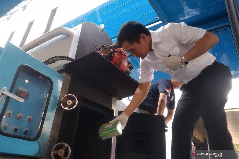 72 kg paket sabu asal Malaysia disita Bareskrim Polri
