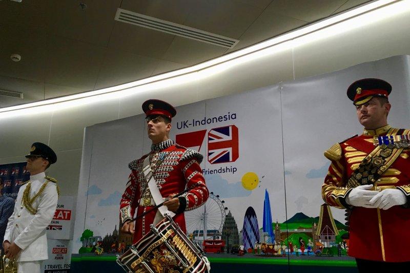 Musisi militer Inggris turut meriahkan hubungan Indonesia-Inggris