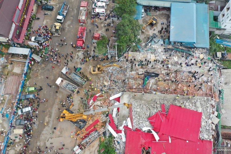 Bangunan milik China ambruk di Kamboja tewaskan tujuh orang