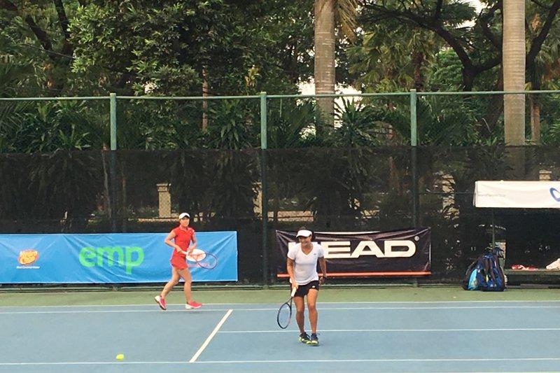 Haruka/Junri siap duel Beatrice/Jessy ke final Jakarta 25k ITF