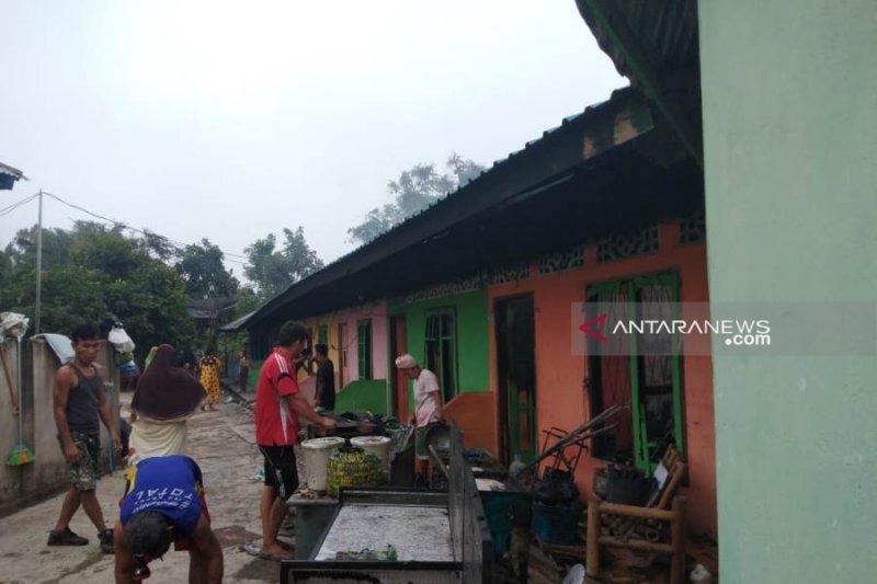 Sembilan pintu rumah kontrakan terbakar di Muratara