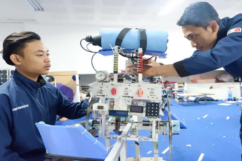 64 perguruan tinggi ramaikan kontes robot Nasional 2019