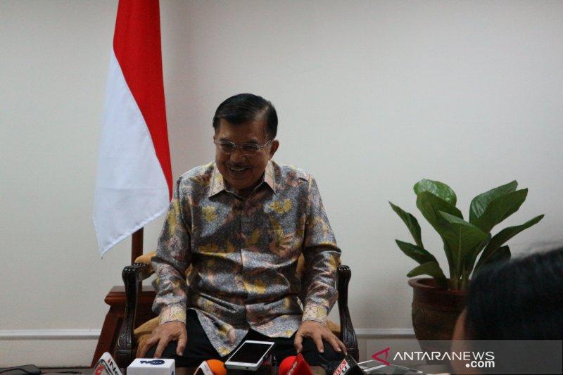 Ma'ruf Amin bersilaturahmi ke Kantor Wapres JK