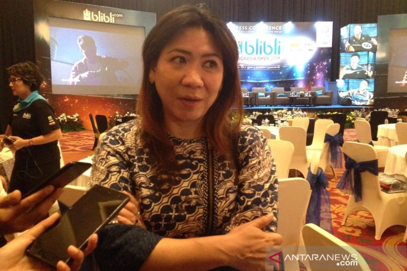 Susy Susanti targetkan satu gelar juara Indonesia Open 2019